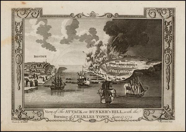 17-New England and Massachusetts Map By John Lodge / Andrew Millar