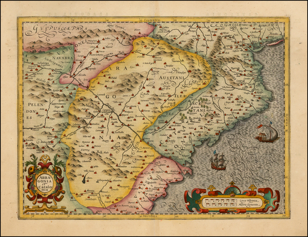 93-Spain Map By Michael Mercator