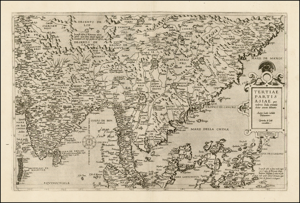 81-China, India, Southeast Asia, Philippines, Other Islands and Central Asia & Caucasus Map By