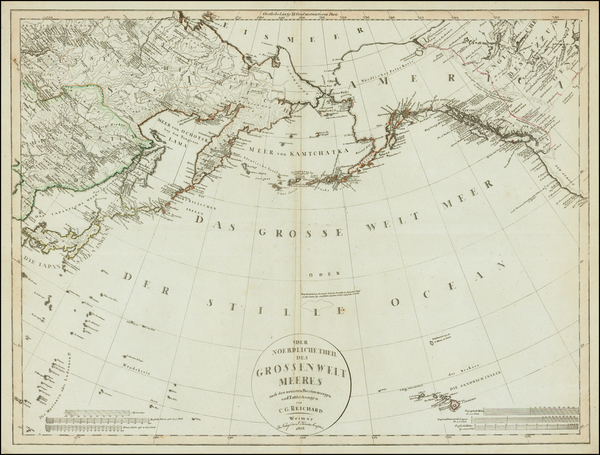 86-Polar Maps, Alaska, Canada, China, Japan, Korea, Pacific and Russia in Asia Map By Christian Go