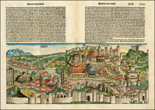 55-Italy Map By Hartmann Schedel