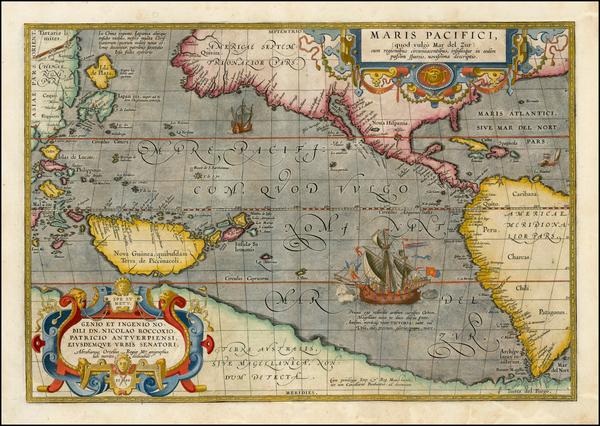 81-Western Hemisphere, Polar Maps, South America, Japan, Pacific, Australia, Oceania and America M