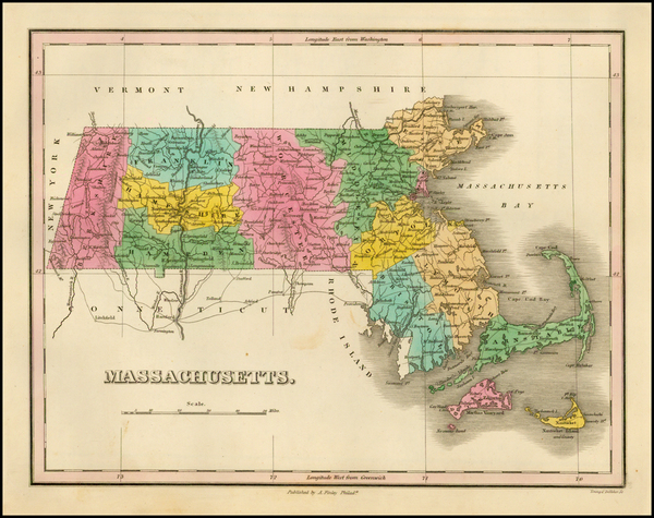 42-Massachusetts Map By Anthony Finley