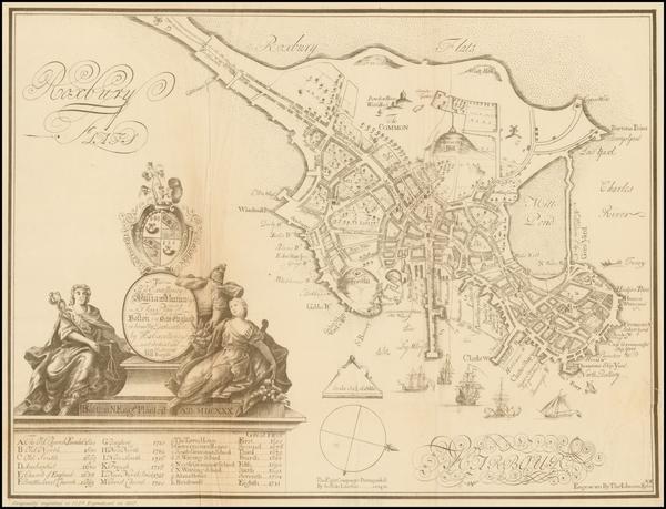 29-Massachusetts Map By William Burgis