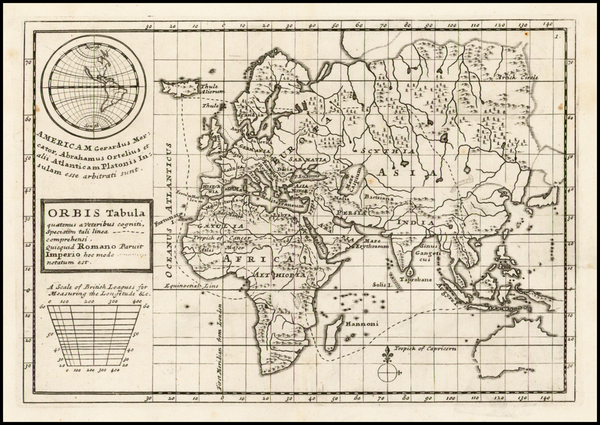 79-World, World, South America and America Map By Herman Moll