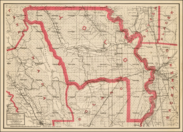 14-California Map By Punnett Brothers