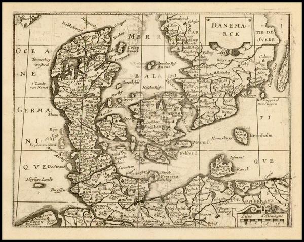 68-Scandinavia Map By Jean Boisseau