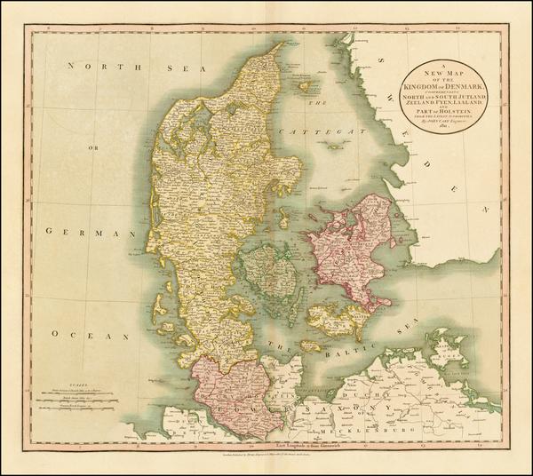 56-Scandinavia Map By John Cary