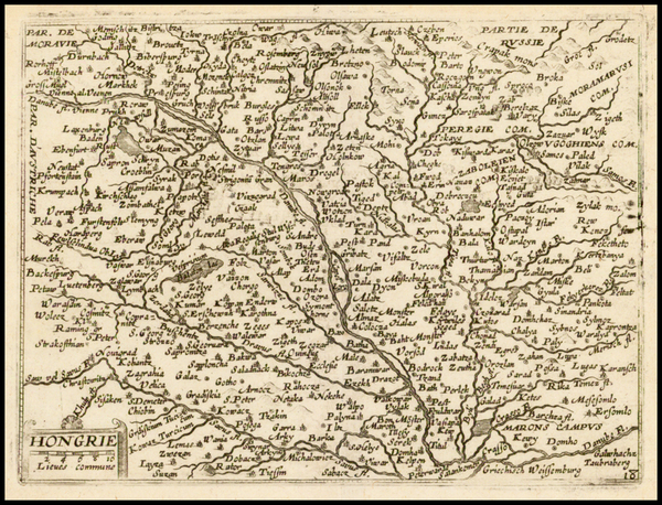 48-Austria and Hungary Map By Jean Boisseau