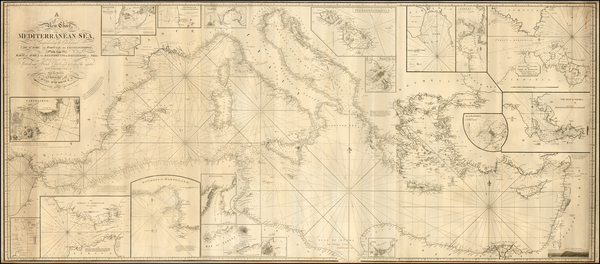 10-Italy, Greece, Turkey, Mediterranean, Balearic Islands and Turkey & Asia Minor Map By Richa