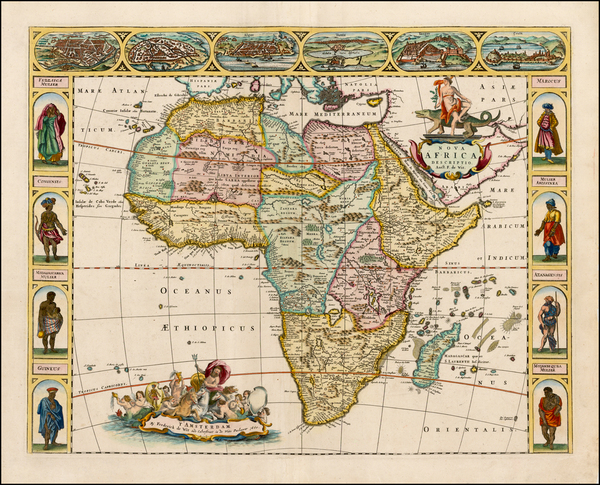 39-Africa and Africa Map By Frederick De Wit