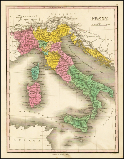 10-Italy and Balearic Islands Map By Anthony Finley