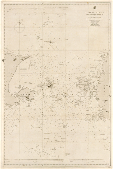 Southeast Asia, Indonesia and Other Islands Map By British Admiralty