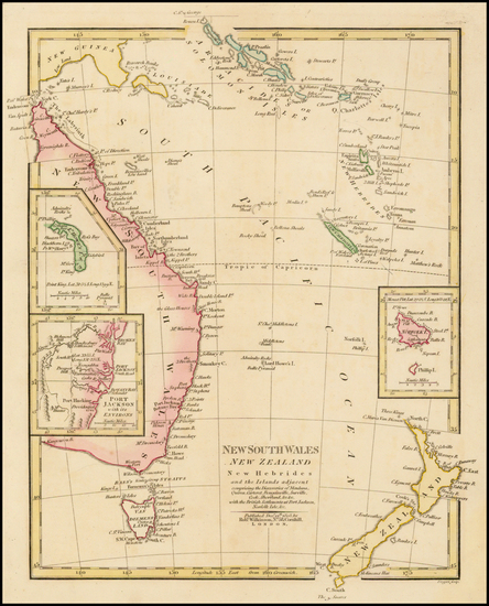 49-Australia, Oceania, New Zealand and Other Pacific Islands Map By Robert Wilkinson