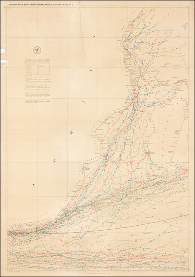 40-South Africa, East Africa and African Islands, including Madagascar Map By Matthew Fontaine Mau