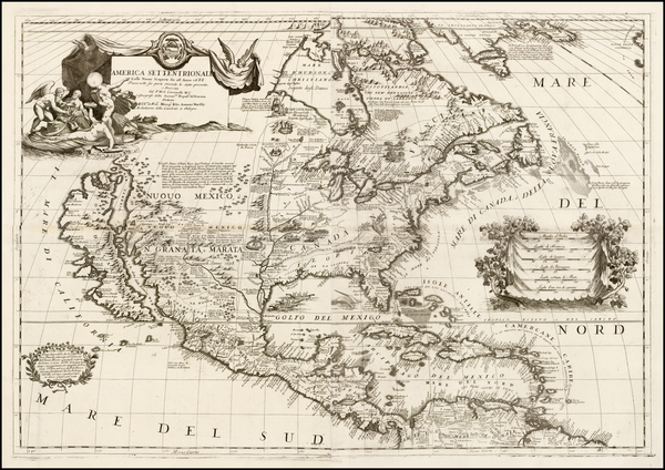 43-United States, Texas, Midwest, Southwest, North America and California Map By Vincenzo Maria Co