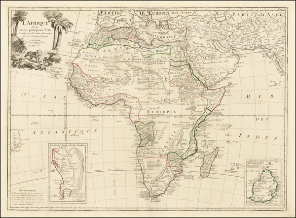 Africa and Africa Map By Paolo Santini