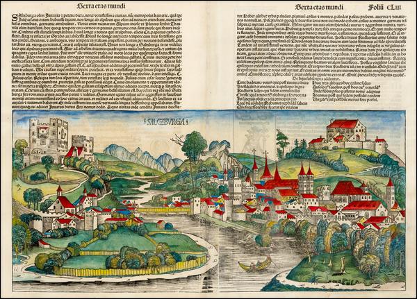 92-Austria Map By Hartmann Schedel