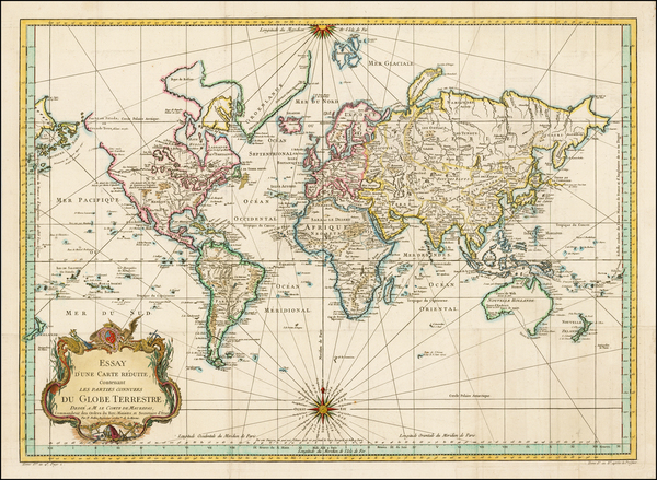 68-World, World, Australia & Oceania, Australia, Oceania and New Zealand Map By Jacques Nicola