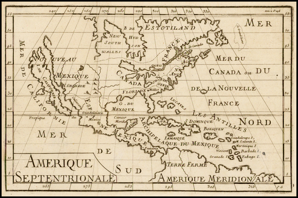 31-North America and California Map By Anonymous