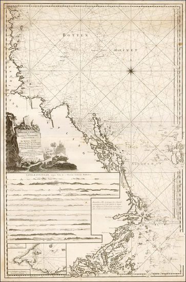 20-Sweden Map By Johann Nordenankar