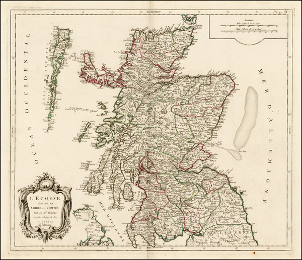 Scotland Map By Paolo Santini