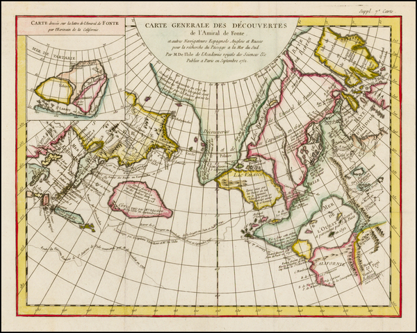 100-Alaska, Canada and Russia in Asia Map By Denis Diderot / Didier Robert de Vaugondy