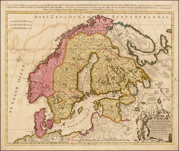 53-Scandinavia Map By Peter Schenk
