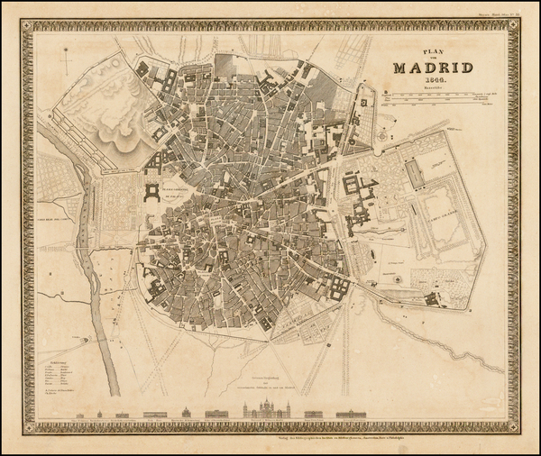 0-Spanish Cities Map By Joseph Meyer