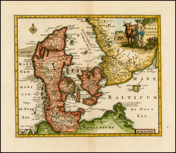 86-Scandinavia Map By Philipp Clüver