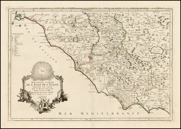 88-Northern Italy and Southern Italy Map By Paolo Santini