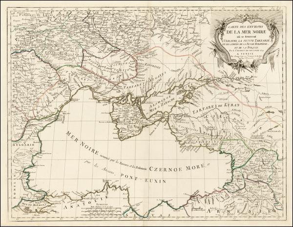 0-Ukraine, Romania, Balkans and Central Asia & Caucasus Map By Paolo Santini