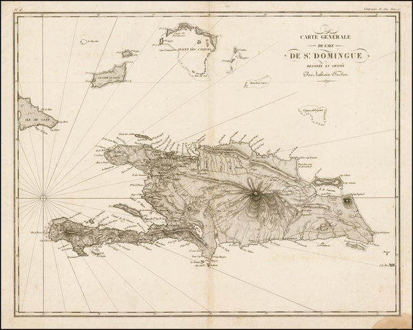 65-Caribbean and Hispaniola Map By Ambroise Tardieu