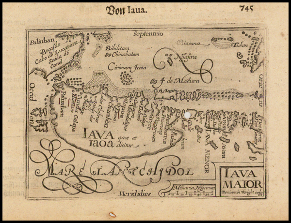 70-Southeast Asia, Indonesia and Other Islands Map By Barent Langenes