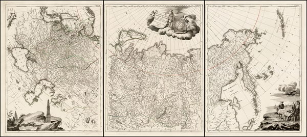 87-Russia, Ukraine, Baltic Countries and Russia in Asia Map By Paolo Santini