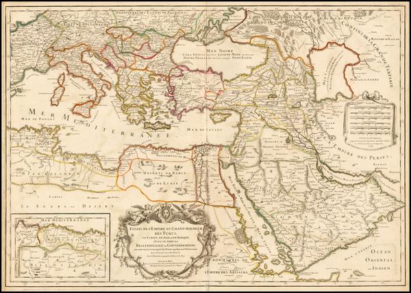 6-Ukraine, Balkans, Turkey, Mediterranean, Middle East and Turkey & Asia Minor Map By Alexis-