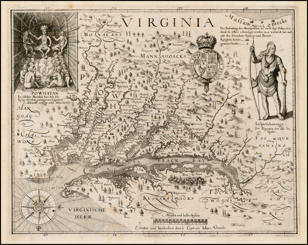 67-Mid-Atlantic and Southeast Map By John Smith