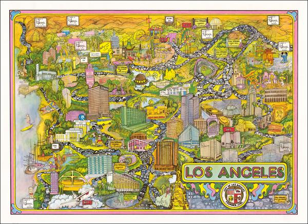 64-California Map By Robbie Nyman