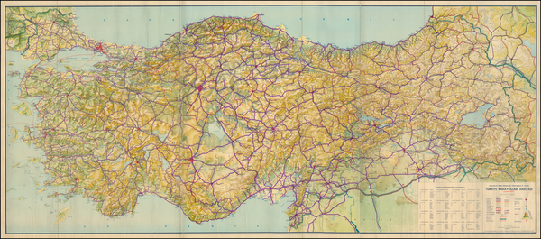 63-Turkey and Turkey & Asia Minor Map By Anonymous