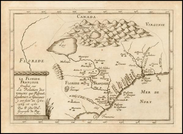 94-Southeast Map By Pierre Du Val
