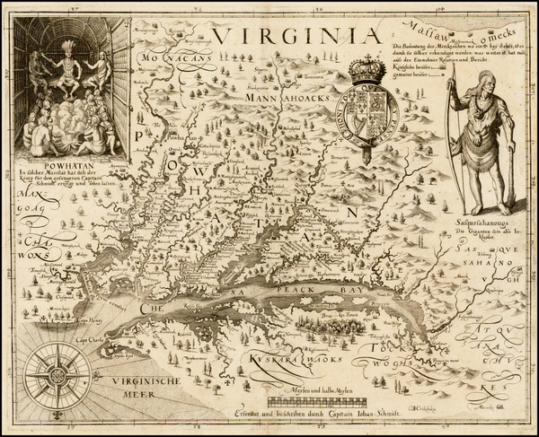 53-Mid-Atlantic and Southeast Map By John Smith