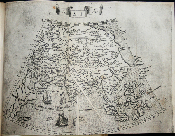 22-Asia and Asia Map By Giuseppe Cacchij dell' Aquila