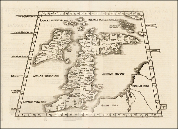 46-British Isles, Scotland and Ireland Map By Lorenz Fries