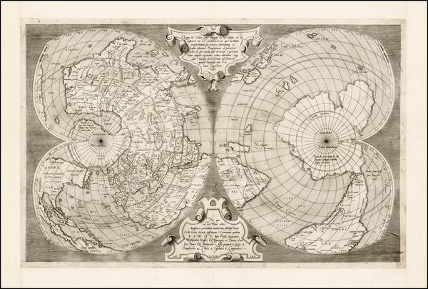 20-World, World and Polar Maps Map By Antonio Lafreri / Antonio Salamanca