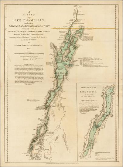 51-New England and Vermont Map By Robert Sayer  &  John Bennett