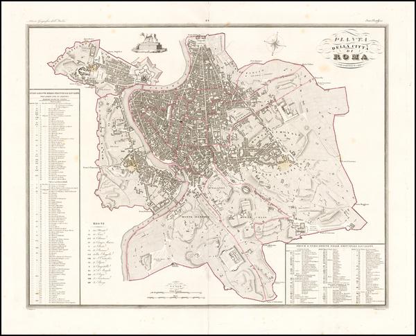 91-Italy Map By Attilio Zuccagni-Orlandin