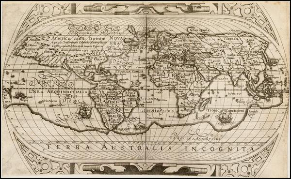 World and World Map By Ephraim Pagitt