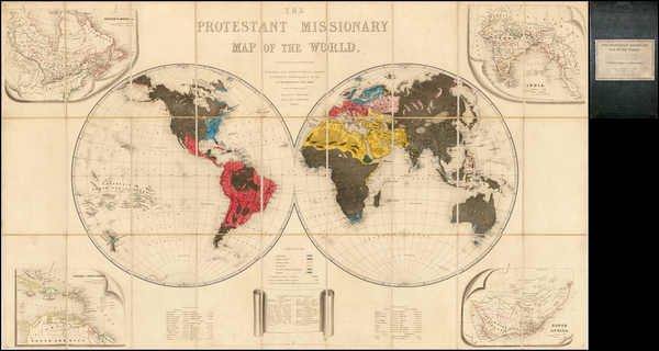 14-World and World Map By Seeley, Burnside and Seeley