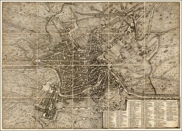 25-Italy Map By Giuseppe Vasi