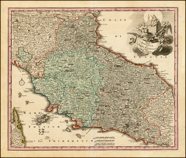 47-Northern Italy and Southern Italy Map By Christopher Weigel